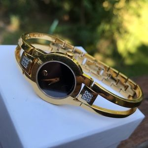 Genuine Movado Museum Collection Diamond Watch